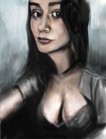 Female portrait by artist-from-italy
