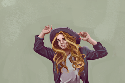 Hats Off: Photo Study by audreytriggers