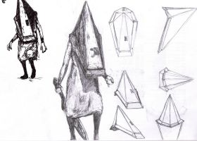 092 - Pyramid Head study 3 by Dalicris
