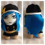 Juvia plush from Fairy Tail 2.0 | For Sale by LeslysPlushes