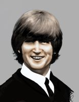 Lennon- finished in color by JennBredemeier