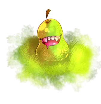 oh hey a pear by l-chaney-l