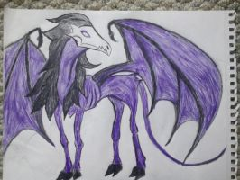 Thestral by WizardHowl10001