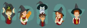 Potter Pets by normgrock