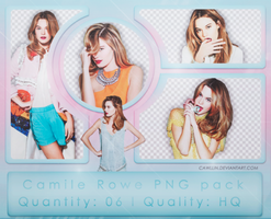 Camille Rowe PNG Pack (model) by cawllin