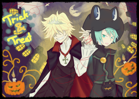 BelXFran-Halloween by Doumu