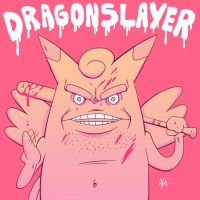 Clefable the Dragonslayer by NapalmDraws