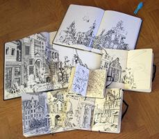 Sketchbooks by MattiasA
