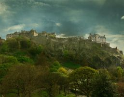 Edinburgh Castle by RicksCafe