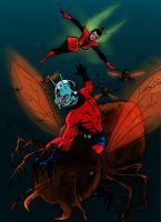 Ant-Man and the Wasp by tomcrielly