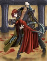 Dancing With Death by raerae
