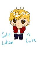 Luhan drawing~ (Art Trade with SilverLeaf4Ever) by YellNonsense