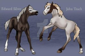 Edward and John by abosz007