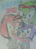 HAPPY NEW YEAR 2012 by Fernandathehedgehog
