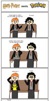Harry Potter meets Pokemon by TheSmilingFish