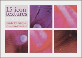 Icon textures, set 2 by in-a-daydream