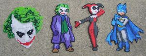 Batman Bead Sprites by ShampooTeacher