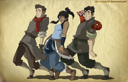 Legend Of Korra_ Bend with it Rock with it! by LadyGT