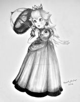 Princess Peach by linus108Nicole