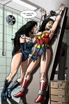 Wonder Woman in Trouble 100k Visit Celebration by leandro-sf