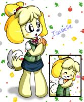 Collab- Isabellez Animal Crossing New Leaf by Robie-Chan