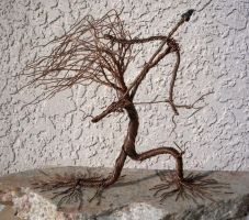 Copper Wire Willow Archer by CopperRock
