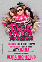 takeover thursdays flyer by DeityDesignz