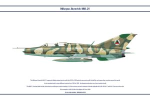 MiG-21 Afghanistan 3 by WS-Clave