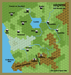 Map Of Arquen by yellowdingo