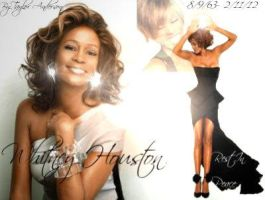 Whitney Houston by SchitzophrenicNeko12