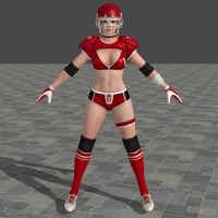 DOA5U Tina Sports costume by zareef