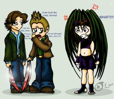 The Winchesters and Envy by TheDocRoach