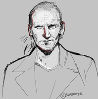 The Doctor/Christopher Eccleston by superfizz