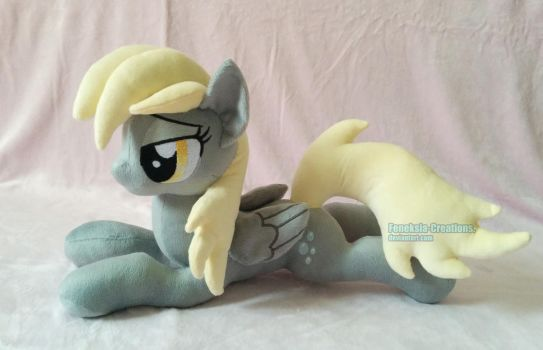 Derpy Hooves plush by Feneksia-Creations