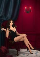 Red room : Commission by eliz7