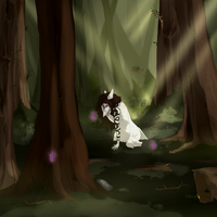 Tanis in the forest by chiizorg