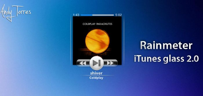 iTunes Glass 2.0 by masacote18