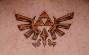 Triforce Tattoo by Ranas