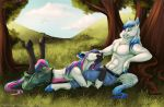 Brumby and Mustang by Silvixen