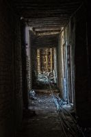 Deserted Alley HDR by InayatShah