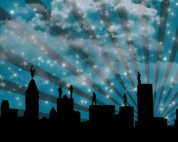 Sky line party by KenyT