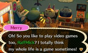 ACNL - Merry And The Fourth Wall by LatinNewYorker
