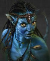 Neytiri 3D wobble by SteveDelamare