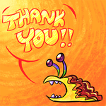 F+ THANK YOU by jazaaboo