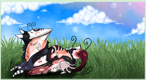 .:Summer Luffin - Iscribble Collabu:. by DancingWithDreams