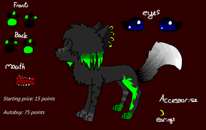 Scene Canine Auction Closed by Zoesadopts4u