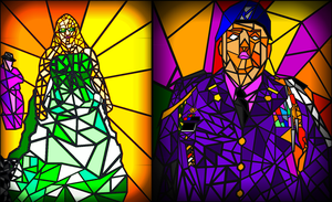 Stain Glass by Jethro-Lee-Gibbs