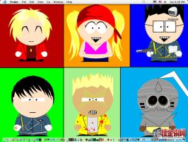 South Park styled FMA by kiki-isbeing-purples