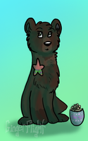 AT: Claire a bear by GingerFlight