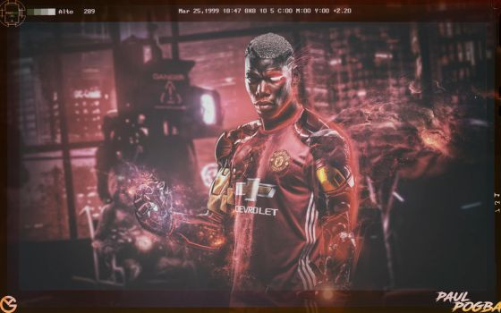 Paul Pogba Wallpaper by GraphicalManiacs